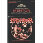 ARA028 Mentor - Guts, Graves and Blasphemy (MC - black tape)