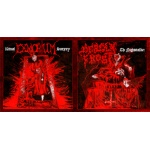 Deadly Frost / Exmortum - The Nightstalker / Ritual Surgery (CD)