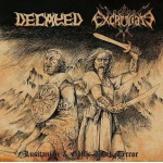 Decayed / Excruciate 666 - Lusitanian & Gallic Black Terror (CD)