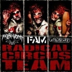 Nuclear Vomit / FAM / Grindbahers - Radical Circus Team (CD)